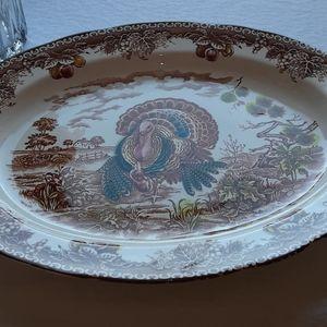Vintage Ceramic Chef St Laurent Platter